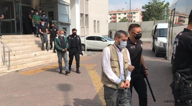Kayseri'de şafak operasyonunda, aranan 18 şüpheli yakalandı