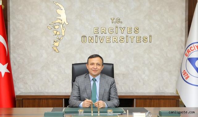 ERÜ Rektörü Prof. Dr. Mustafa Çalış'ın 29 Ekim Cumhuriyet Bayramı Mesajı