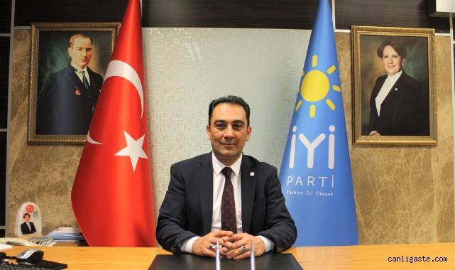 İYİ Parti Kayseri İl Başkanı Ataman'dan Cumhuriyet Bayramı mesajı