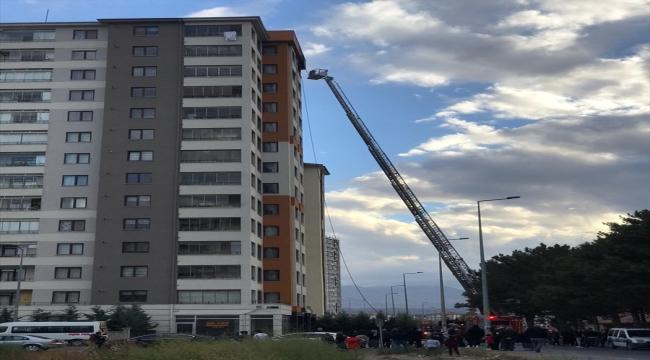 Kayseri'de korkutan ev yangını