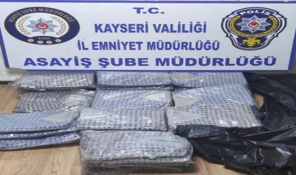 Kayseri'de hırsızlık yaptıkları iddia edilen 5 kişi gözaltına alındı