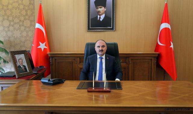 Kayseri Valisi Günaydın'dan Cumhuriyet Bayramı Kutlama Mesajı