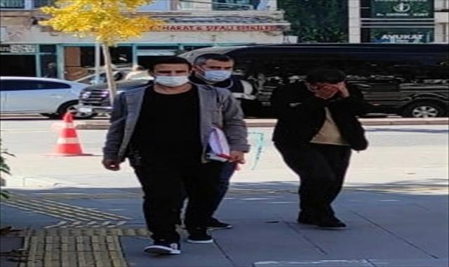 Hırsızlık yapan zanlı Ankara'daki eğlence mekanında yakalandı