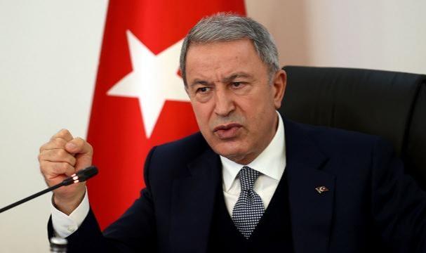 Milli Savunma Bakanı Akar: Terörist neredeyse hedef orası