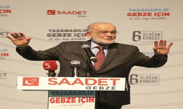 Saadet Partisi Genel Başkanı Karamollaoğlu, Kocaeli'de konuştu: